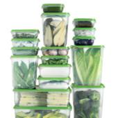 Набор пластиковых судочков IKEA для хранения продуктов, 17 штук, цвет на выбор