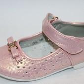 ♥ Нарядные туфельки бренд Tom.m 28 размер (17,0 см) ♥