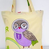 Сова! Милая и практичная прогулочная сумочка