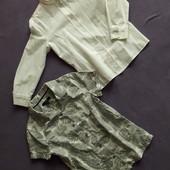 Рубашка хб сатин 6-7лет