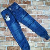Классные модные джинсы для девочек. Размер 104-110.