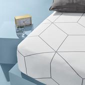 Нюанс!!!!Джерси простынь на резинке для матраса 140/190 - 160/200 см от Tcm Tchibo (Германия)