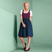 ☘Лот: плаття + фартук☘ Баварський традиційний костюм Tchibo (Німеччина), рр. наші: 42-44 (36 євро)