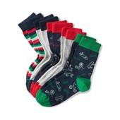 ⚙ Лот 5 пар ⚙ Для хлопчика-якісні шкарпетки з органічної бавовни, Tchibo (Німеччина), р .: 27-30