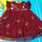 нарядное платье ( Платечко) р 6-9 мес
