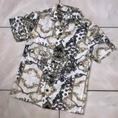 Стоп !❤ Крутая фирменная вискозная рубашка,5-6лет❤ Много лотов!