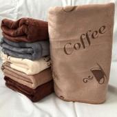 Полотенце для рук Coffee микрофибра 35*70см, лот 1шт. Турция. Отличного качества!