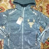 Хит 2021!скоро весна.не пропусти.супер шикарные куртки рост98-130лот1шт.для девочек. Нов