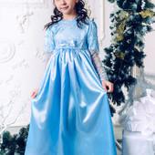Платье нарядное Ангелочек для девочки 116-134
