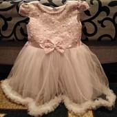 Платье для принцеси 86-92 розмір