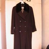 УП скидка 10%!! элитное пальто шинель 46-48р легкое демисезонное стильное