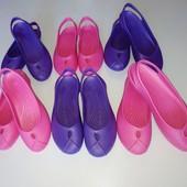 Аналог Crocs, 38 и 39 р. современная модель женских шлепок-балеток! Для лета, дачи, моря, дома.