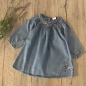 Платье для девочки 9-12 месяцев. В хорошем состоянии.