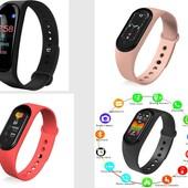 Фитнес-браслет M5 Band Smart Watch Bluetooth 4.2 шагомер, фитнес трекер, пульс, монитор сна