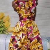 Вау! Обалденное платьице секонд люкс с биркой размер 44