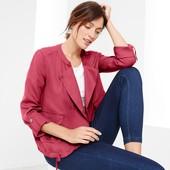 Текстильная ветровка ягодного цвета в стиле casual Tchibo (германия) 100% Lyocell, размер 40 евро=46