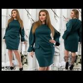 Распродажа. Шикарное стильное платье р 50 Отличного качества