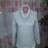кофта светр з сорочкою обманкою