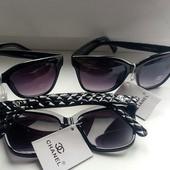 Весна Лето! Chanel брендовые Реплика 1в1 с оригиналом.степень защиты:UV400категория:3 цвет черный