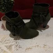 Ботинки із натуральної замші,від Minelli,розмір 35,36