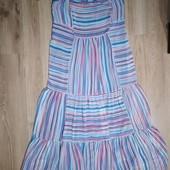 Esprit. Легкое платье - сарафан, очень красивое.