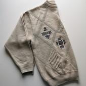 Полушерстяной тёплый свитер джемпер westbury большой размер C&A