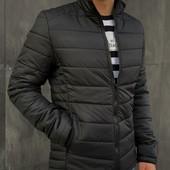 Чоловіча куртка весна-осінь | Чорний