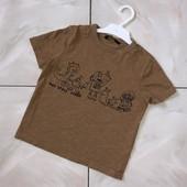 Стоп !❤С инопланетянином,динозавром, классная фирменная футболочка,3-4 года❤ Много лотов!