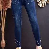 Теплые лосины под джинс. Размер универсальный, 2XL, в реале подходят от 46 до 50 размера.