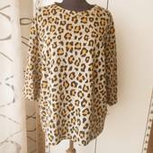 Леопардовый свитер . женский свитер