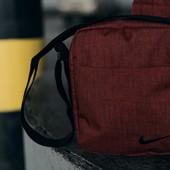 Чоловіча барсетка Nike | Червоний меланж