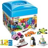 Конструктор детский аналог Lego 460 деталей | Build and Learn Box |