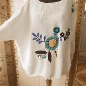 Женский вязаный свитер .22 р евро