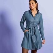 Стильное платье с карманами Esmara Tencel M evro 42+6