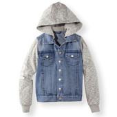 Джинсовая курточка Pepperts, рукава с начёсом, на кнопках, рост 122,134,140 замеры по запросу, оче
