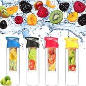 Бутылка для воды и напитков Fruit Bottle с контейнером для фруктов
