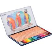 Карандаши цветные акварельные Kite металлический . пенал, 36 шт.