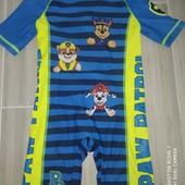 Купальный костюм с защитой от уф на мальчика 4-5лет