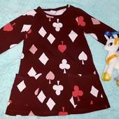 Классное фирменное платьице в идеале,на девочку 5-6 лет