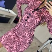 Красивое платье, размер 52 наш, есть замеры