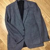 Пиджак мужской фактурная ткань 75% шерсти