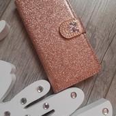 Чехол на IPhone 6 или 6s размеры в лоте розовое золото камни стразы блеск блестящий в реале блеск н