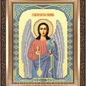 """Схема для часткової вишивки бісером """" Святой Ангел Гавриил"""""""