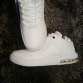Мужские белоснежные кроссовки. 45р-28 см