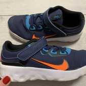 Легкие кроссовки Nike оригинал 32 размер стелька 20,5 см
