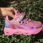 Суперские кроссовки 26,28 для девочки СВТ, лот только сутки!