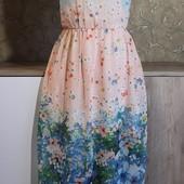 Собираем лоты!!! Платье-сарафан в пол, размер 13-14лет, 164см