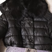 Куртка на размер 46-48. Ньюанс(молния)