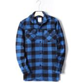 Фирменная тёплая мужская куртка-рубашка с карманами врезными,на весну! бренд Fox Outdoor