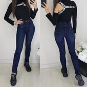 Обалденные теплые джинсы, стрейч, качество отличное, рр. 25-30